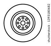 illustration wheel icon for... | Shutterstock . vector #1393180682