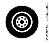 illustration wheel icon for... | Shutterstock . vector #1393236368