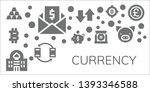 currency icon set. 11 filled...   Shutterstock .eps vector #1393346588
