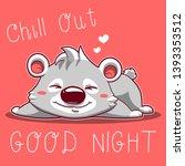 mini koala cute animal... | Shutterstock .eps vector #1393353512