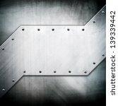metallic template | Shutterstock . vector #139339442
