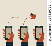 smart phone | Shutterstock .eps vector #139339712