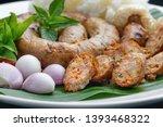 Northern Thai Sausage Or Sai...