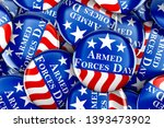 armed forces day button... | Shutterstock . vector #1393473902