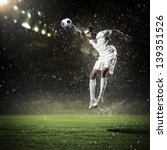 Image Of Football Player At...