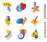 icons for leisure  travel ... | Shutterstock . vector #139353086