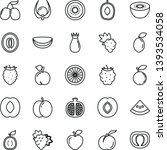 thin line vector icon set  ...   Shutterstock .eps vector #1393534058