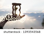 innovative mechanism of... | Shutterstock . vector #1393543568