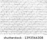 brick wall white texture... | Shutterstock . vector #1393566308