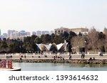 baku  azerbaijan may 12  2019... | Shutterstock . vector #1393614632
