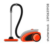 icon of vacuum cleaner. home...   Shutterstock .eps vector #1393635938