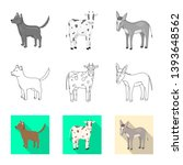 vector illustration of breeding ... | Shutterstock .eps vector #1393648562