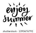 brush lettering composition.... | Shutterstock .eps vector #1393676792