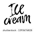 summer brush lettering... | Shutterstock .eps vector #1393676828
