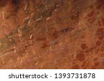 natural stone of red color with ...   Shutterstock . vector #1393731878