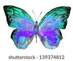 Watercolor Butterfly Summer...