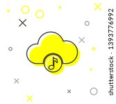 grey music streaming service...   Shutterstock .eps vector #1393776992