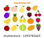 big flat icon set with...   Shutterstock .eps vector #1393782665