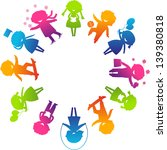 children's day concept. cute... | Shutterstock .eps vector #139380818