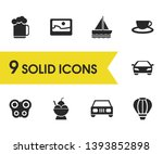 season icons set with... | Shutterstock . vector #1393852898