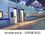 high speed train in beijing... | Shutterstock . vector #139387652