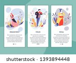 dramaturgy violin and vocal... | Shutterstock .eps vector #1393894448