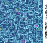 seamless geometric pattern.... | Shutterstock .eps vector #139389566