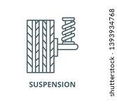 suspension  car  auto  vector...   Shutterstock .eps vector #1393934768