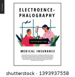 medical tests template   eeg  ... | Shutterstock .eps vector #1393937558