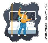 cartoon vector illustration of... | Shutterstock .eps vector #1393942718