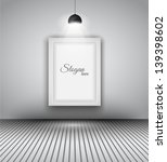 modern interior art gallery...   Shutterstock . vector #139398602