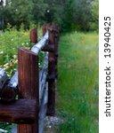 wooden fence | Shutterstock . vector #13940425