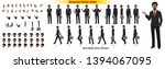 african american businessman... | Shutterstock .eps vector #1394067095
