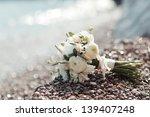 beautiful wedding bouquet of... | Shutterstock . vector #139407248