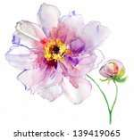 luxurious white peony flower... | Shutterstock . vector #139419065