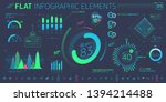 corporate infographic vector... | Shutterstock .eps vector #1394214488