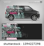 Cargo Van Wrap Decal Of Street...