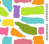 vector seamless pattern of... | Shutterstock .eps vector #1394254142