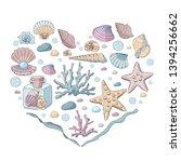 heart made of different...   Shutterstock .eps vector #1394256662