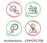 do or stop. waiting  couple and ... | Shutterstock .eps vector #1394291708