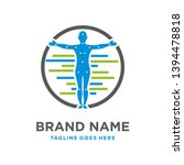 organ therapy logo design in... | Shutterstock .eps vector #1394478818