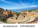 Ruins Of Ancient Greek Theatre...