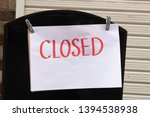 Sorry We Are Closed Sign...