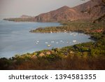 panoramic view from coastal... | Shutterstock . vector #1394581355