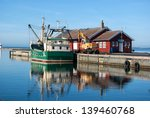 fishing trawler docking in a... | Shutterstock . vector #139460768