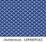 fish scales seamless pattern ...   Shutterstock .eps vector #1394609162