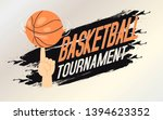 basketball tournament banner ... | Shutterstock .eps vector #1394623352