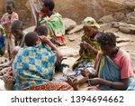 mangola  tanzania   august 14 ... | Shutterstock . vector #1394694662