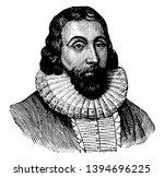 john winthrop 1587 to 1649 he... | Shutterstock .eps vector #1394696225