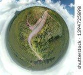 Planetoid View Glass House Mountains - Fine Art prints
